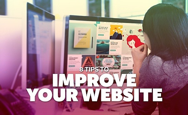 8 tips to improve website